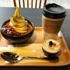参道テラス - 料理写真:釜出しカステラセット  伊勢茶の香り