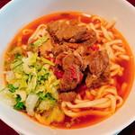 牧志牛肉麺 - 「牛肉麺(600円)」