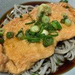 蕎麦酒房 天 - たぬき(冷)