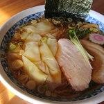 中華そば いがらし - ワンタン麺