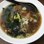 大江戸そば - 煮干し中華