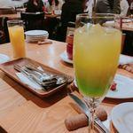渋谷イタリアン ズッカ - メロンベースのお店オリジナルカクテル