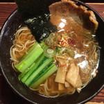 麺屋 空海 - 空海そば(醤油)800円