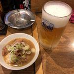 立飲み たきおか - 煮込み&生ビール