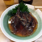 やきとり弁慶 - ホタルイカの醤油漬け400円
