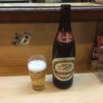 やきとり弁慶 - 中瓶ビール550円