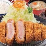 かつ敏 - 三元豚ロースランチ