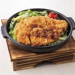 かつ敏 - 陶板チキンかつランチ