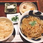 101949006 - 昼膳のかけそば1,080円(^^)