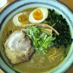 麺屋 ささき - ラーメン+味玉子(650円)