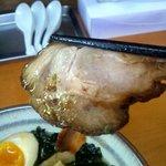 麺屋 ささき - 薄いが味しっかり叉焼