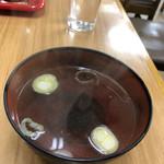 三陽 - ラーメン汁と同じスープ