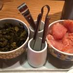 101952434 - 【食べ放題の明太子と高菜】この二つが食べ放題というのは、贅沢な話です。追随を許さない、唯一無二のサービスじゃないでしょうか。