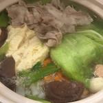 豚と野菜 ポルチエ -