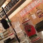 大衆酒場 ひげとアフロ - キンミヤトマチュ