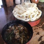 元祖田舎っぺうどん - 肉ネギ汁 大盛うどん 756円