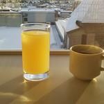 ホテルグランドヒル - りんごジュース/コーヒー