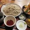 そば処 みかど - 料理写真:「ミニ天丼セット  ¥1.200」