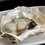 かき処 海 - 蒸し牡蠣