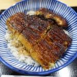 すぎの家 - 料理写真:鰻丼(上)