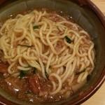 101962528 - 雷々麺(あんかけ麺)(700円)※混ぜた後