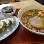 喰海 - 餃子セット 830円