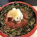 京寿司 - 料理写真:ランチ:鮪づけ丼