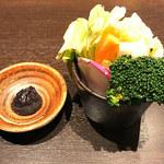 101965827 - 前菜:三浦野菜