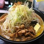 小林屋 - 料理写真:北海道味噌ラーメン¥850 バタートッピング¥100