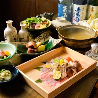 【宴会】金目鯛しゃぶしゃぶを堪能できる贅沢コース6500円