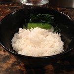 柳麺 ちゃぶ屋 - ごはん(200円)