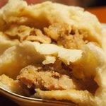 木のか - 料理写真:豚まん(ピンク包み)130円、肉の甘味が❤