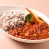 コロンバン - 料理写真:豚肉と四種豆のトマトカレー