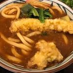 丸亀製麺 - 海老天味噌煮込みうどん並620円