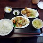 中国料理 東方紅 - 料理写真:玉葱と肉炒め定食