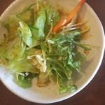 こだわりラーメンカフェ 壺水天 - サラダ