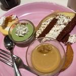 サロンドスイーツ - 4皿目のデザート