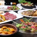 ワインバル 博多うきしま倉庫 - 料理写真:お肉料理も充実のラインナップ
