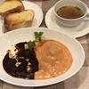 巻葉亭 - 料理写真:ロールキャベツとタンシチューの盛り合わせ