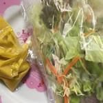 巻葉亭 - サラダとドレッシング
