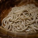 神宮の蕎麦 - せいろ