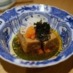 神宮の蕎麦 - 蕎麦豆腐揚げ出し