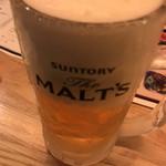 Hatagayagyuutanteru - とりあえず生ビール