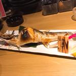 居酒屋ひょうきん - かますの塩焼き