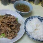 幸楽 - スタミナ満点 生姜焼定食