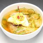 天ざんPLUS - 料理写真:当店名物手打ち冷麺