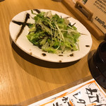 居酒屋ひょうきん - レタス昆布サラダ