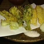 キッチン ウィル - 春野菜の天ぷら