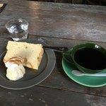 ブリキッカ - 料理写真:シフォンケーキのセット