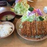 とんかつ司 - お昼のサービス定食 とんかつ定食